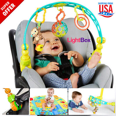Crib Toys Rattles Baby Stroller Infant Education Kids Rock N Play Toy Arch Seat