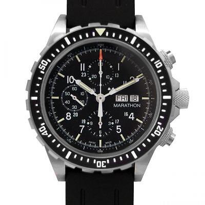 47mm Marathon Swiss Made CSAR - 300m Automatic Pilots Chronograph Watch ETA 7750