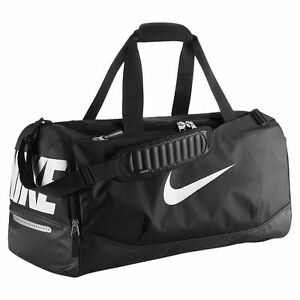 278ff50d8e Nike MAX Air Duffle Bags - Black Black (White) for sale online