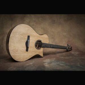 """Acoustic Guitar- """"Two Roses II"""" OM Guitar"""