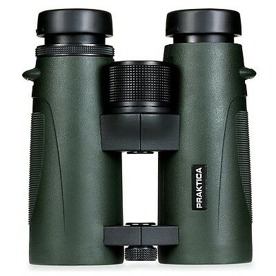 Praktica Ambassador FX 10x42mm ED Waterproof Binoculars-Green, London