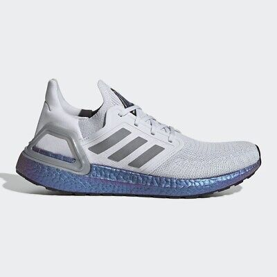 Adidas Ultra Boost 20 ISS NASA National Lab Grey Space Blue UK 8.5 Triple White