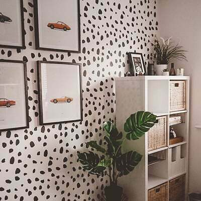 70 Dalmation Spots Vinyl Wall Decal Sticker Polka Dot Print Bedroom Nursery