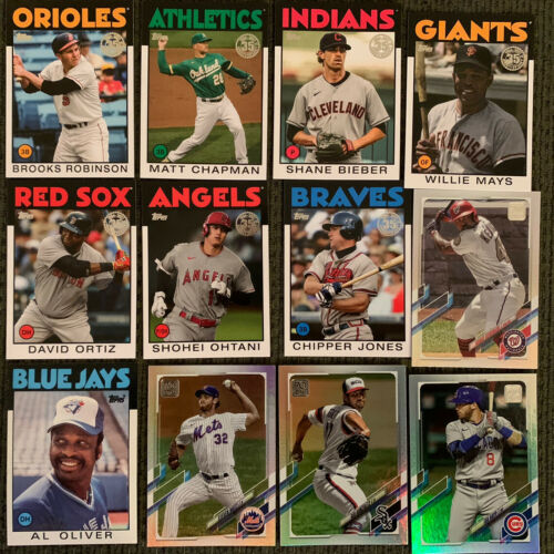 Lot Of 12 Premium Topps Baseball Cards Brand New - $6.00