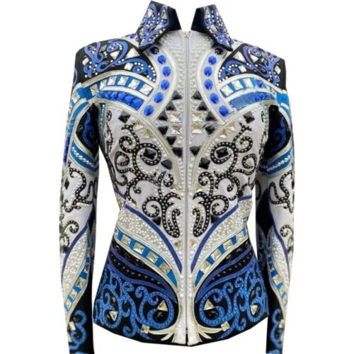 Western Showmanship Pleasure Horsemanship Show Jacket Shirt rail jacket