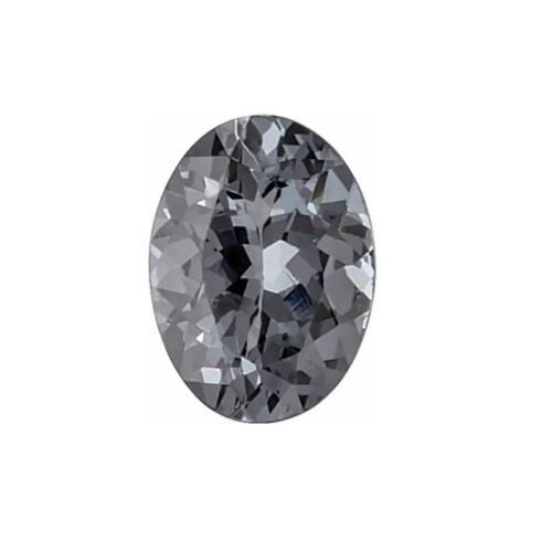 Natural Grey Spinel Oval Shape Faceted AA Quality Gemstone in 4x3MM-8x6MM