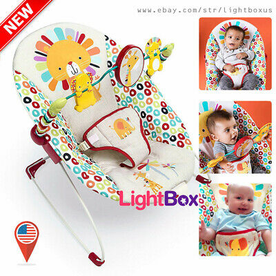 Used, Infant to Toddler Rocker Bouncer Seat Baby Chair Sleeper Swing Toys Unisex NEW for sale  New Century
