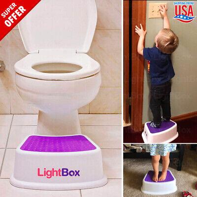 Training Toilet Potty Kids Toddler Baby Step Up Stool Ladder Trainer CHILD GIRL