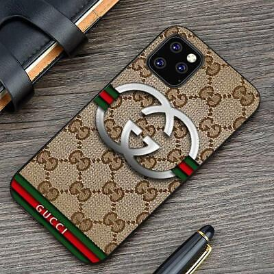 Case Gold iPhone 11 Pro Max X XR XS Samsung Galaxy Note S20 910+Gucci89rCases
