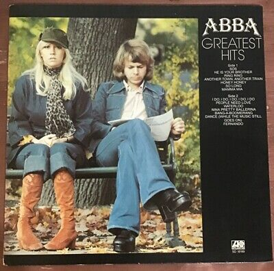 ABBA Greatest Hits LP Vinyl Record Album, Atlantic Records SD 18189