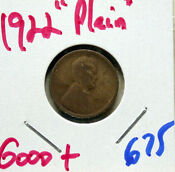1922 Plain Lincoln Cent