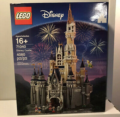 LEGO 71040 Set Disney World Castle Cinderella's Magic Kingdom - New Sealed Box