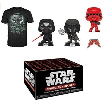 Forces of Darkness Star Wars Smuggler's Bounty Box Funko Pop SEALED IN HAND