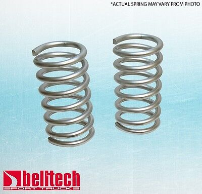 """BLACK FRIDAY Belltech 87-96 Ford F150 Std/Ext Cab 2"""" Front Lowering Springs"""