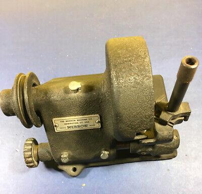 Used Vintage- Merrow-grinder Sharpner