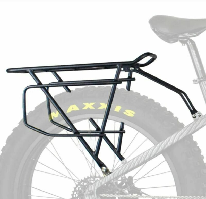 NEW RAMBO ELECTRIC FAT TIRE HUNTING BIKE REAR EXTRA LARGE RACK - R150