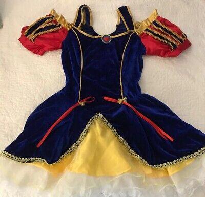 Snow White Fairytale Princess Teen Fancy Halloween Costume Fits Dress Size - Snow White Teen Kostüm