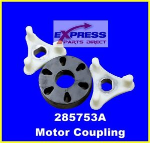 285753A Washer Motor Coupler (Metal Insert) Whirlpool, Kenmore , Roper PS1485646