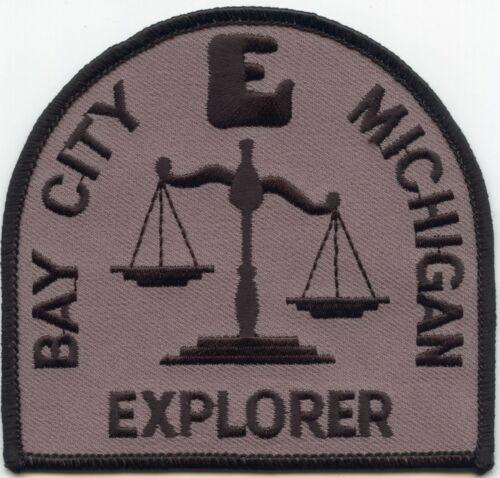 BAY CITY MICHIGAN MI EXPLORER POLICE PATCH