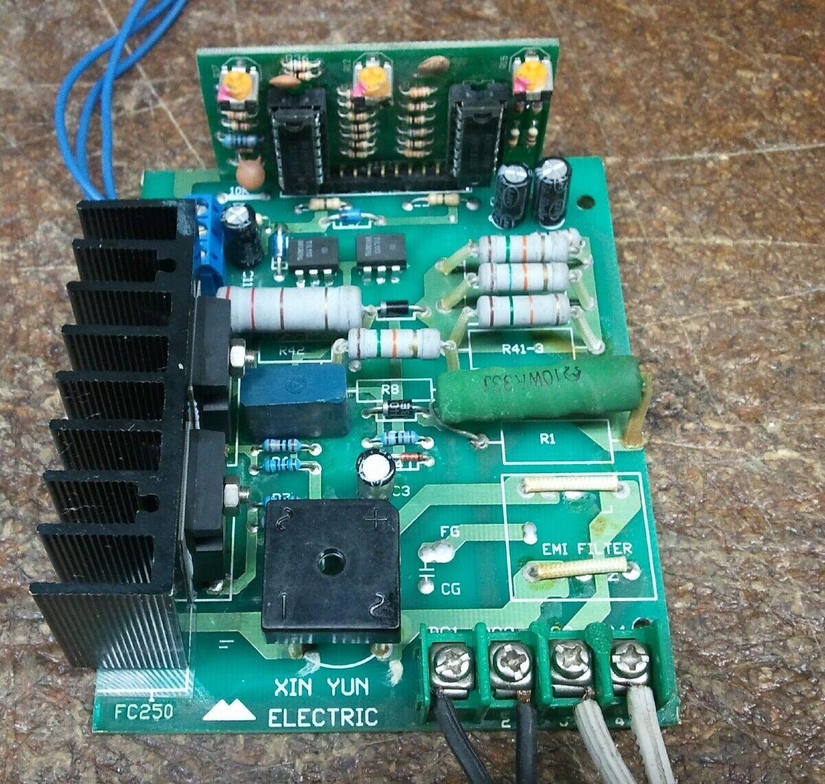 Mini lathe mini mill pmdc bldc motor speed controller for Speed control of bldc motor