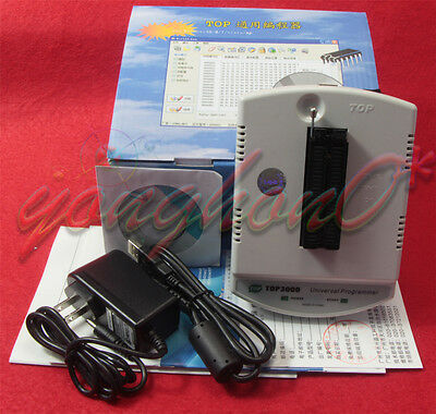 Portable Top3000 Usb Programmer Eprom Mcu Pic Avr Supports 2.5 6.5v Device