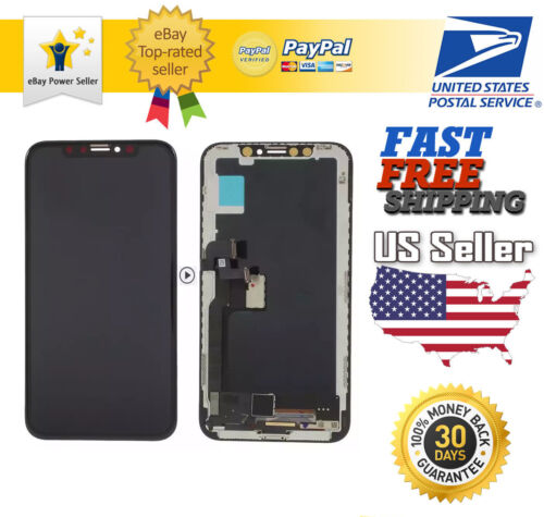 US For iPhone X XR XS Max 11 OLED LCD Display Touch Screen Digitizer Replacement