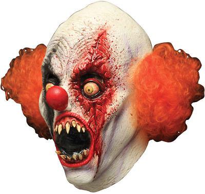 Morris Costumes Men's Creepy Clowns Over The Head Latex Mask One Size. TB26501 - Creepy Clowns Costumes