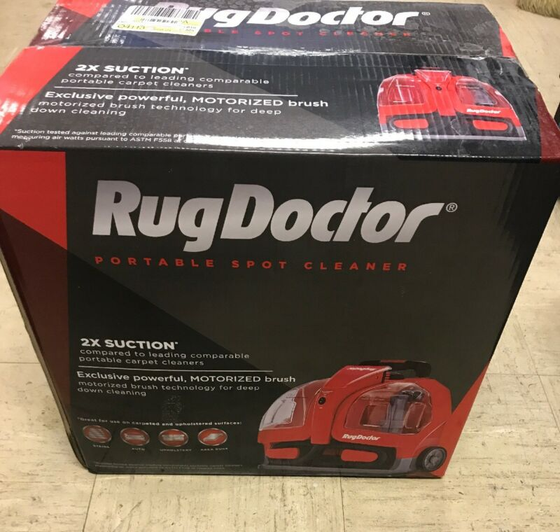 Rug Doctor Portable Spot Cleaner Red 93300