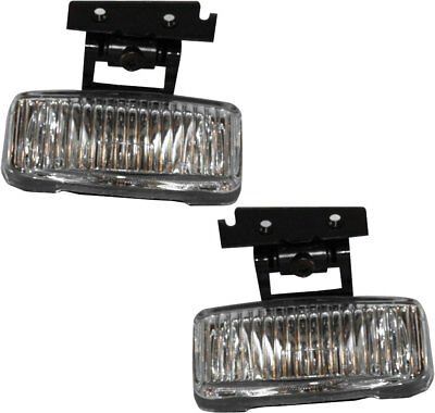 New Front Driving Fog Light Assembly NEW Pair Set for 197-2001 Jeep Cherokee XJ Driving Fog Light Set