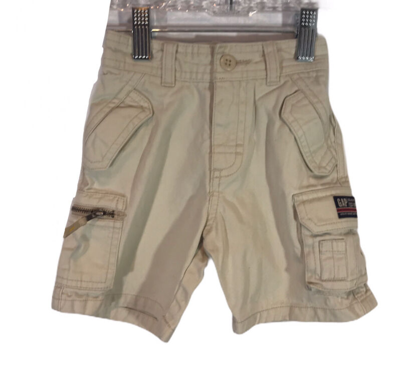 Gap Baby Gap Boys Khaki Cargo Shorts Size 12-18 Months