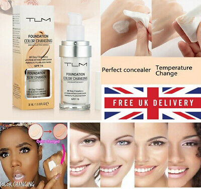 💙Magic Flawless Color Changing Foundation TLM Makeup Change Skin Tone UK💙