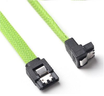 Kabeldirekt 3 Pack  1ft SATA Cable-braided cables High Quality-Free Shipping!