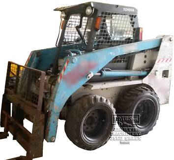 Toyota Huski 8, Skid Steer, 2200hrs, Call 0477 97EMUS North Ward Townsville City Preview