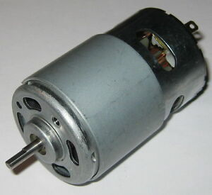 1/4 HP Motor - 14.4 VDC Electric Motor - 185 Watt - 17,600 RPM - 775 Frame Size