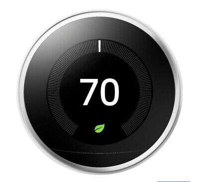 NEW Google - Nest Learning Smart Thermostat -3rd Generation- WHITE