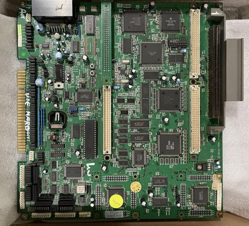 NOT WORKING Sega ST-V Titan Arcade JAMMA PCB Authentic & Original PARTS/REPAIR
