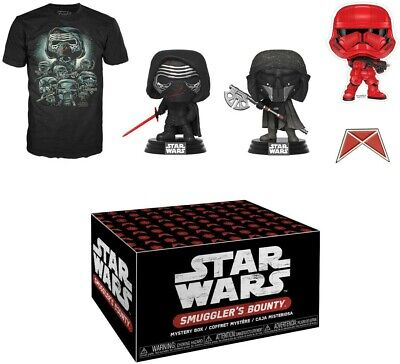 Star Wars Forces Of Darkness Smugglers Bounty Funko Pop Box XL Shirt