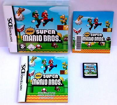 IO BROS für Nintendo DS + Lite + Dsi + XL + 3DS + 2DS (Super Mario Bro)