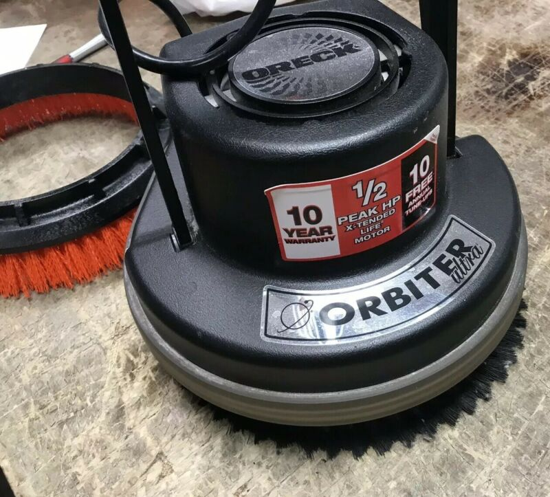 Oreck Orbiter Ultra Carpet Cleaner. Floor Scrubber. Floor polisher. Floor Sander