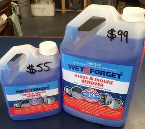 Wet & Forget (moss & mould remover) Greenacre Bankstown Area Preview
