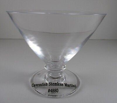 SIMON PEARCE CAVENDISH MARTINI GLASS 4 1/8