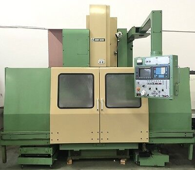 Mori Seiki Mv5550 Cnc Vertical Machining Center 4 Axis Vmc - Haas Mazak Mv Mill