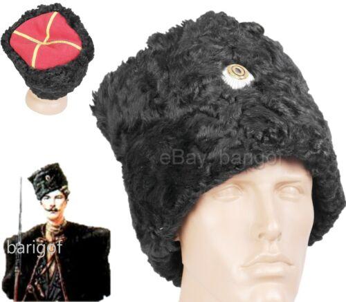 Imperial Army Tsarist Russia Papakha Natural FUR Cossack Ataman Copy