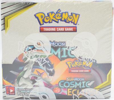 Pokemon Sun & Moon: Cosmic Eclipse Booster Box - Charizard & Braixen GX