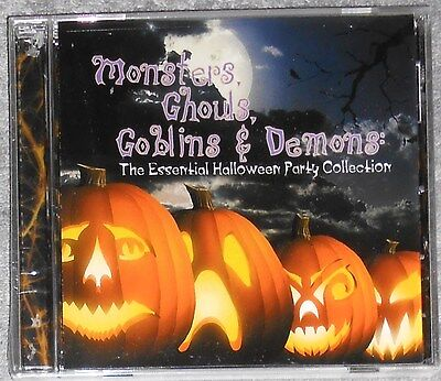 Monsters, Ghouls, Goblins & Demons, Halloween Party Collection, Oingo Boingo NEW