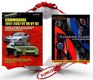Max Ellery Workshop Repair Manual Holden Commodore VT VX VY VZ