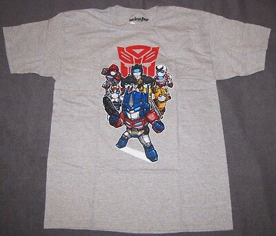 XL LG TRANSFORMERS MENS T-SHIRTS OPTIMUS PRIME RATCHET JAZZ BUMBLE BEE AUTOBOTS (Bumble Bee T Shirts)
