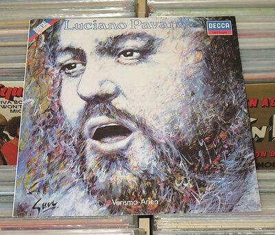 Luciano Pavarotti - LP (mint-) Verismo-Arien - Fedora Iris L'Africana.../ ETERNA