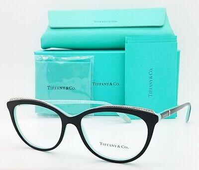NEW Tiffany & Co. Frame RX Glasses TF2147B 8055 54mm Black Tiffany Blue (Glasses Company)
