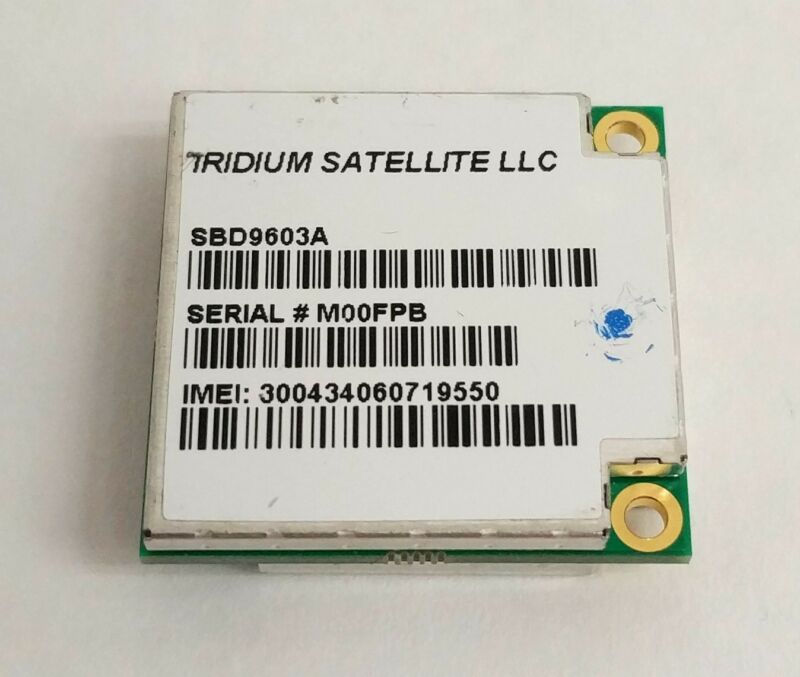 Iridium Satellite Short Burst Data Transceiver Module 9603 SBD Modem SBD9603A
